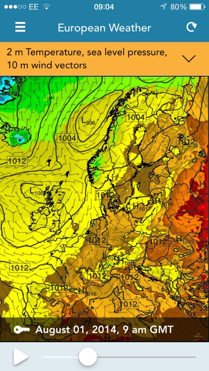 ManUniCast: Weather and Air-Quality Forecasts for the UK and Europe