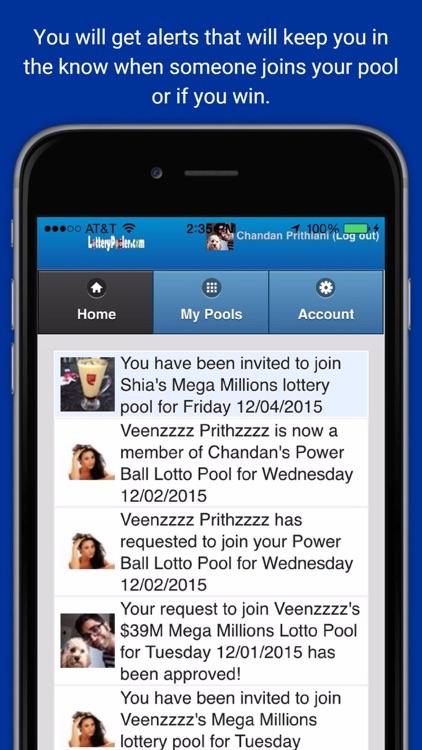 Lottery Pooler screenshot-4