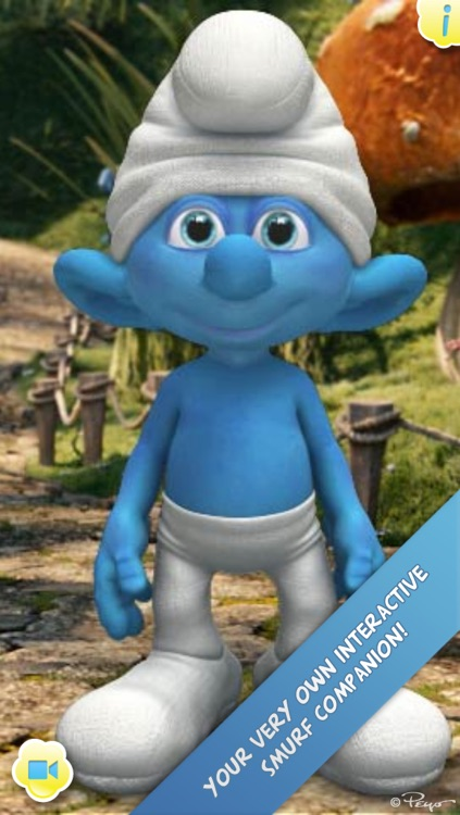 iTalk Smurf screenshot-0
