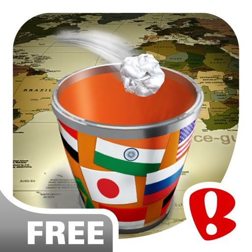 Paper Toss: World Tour - Now Free icon