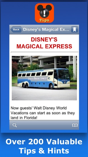 Walt Disney World Tips Hints Phone Numbers on the App Store