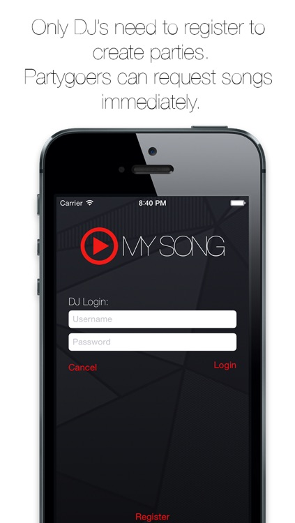 Play My Song - Request Songs to your Parties DJ