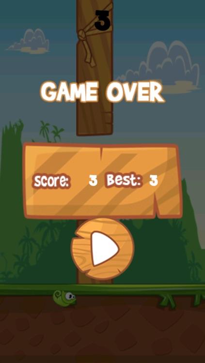 Flappy Chameleon - Free Rainforest Bird Experience screenshot-3