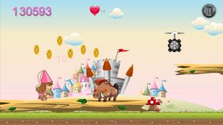 King Castle Rush Quest - Kingdom Fighting Princess Free screenshot two