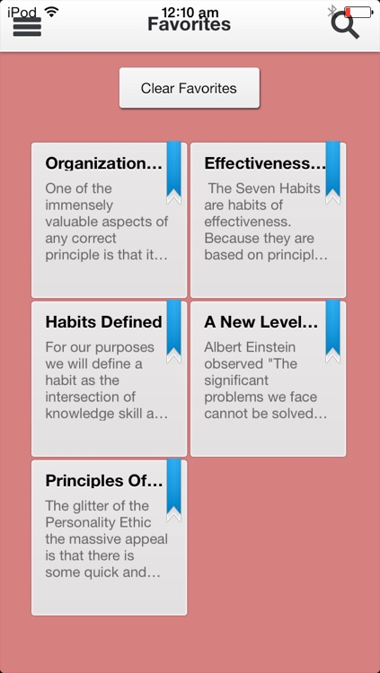 7 Habits of Highly Effective People screenshot-4