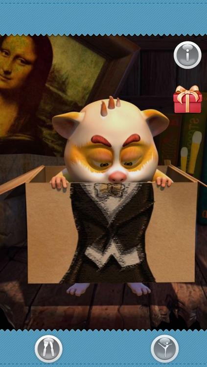 Talking Harry the Hamster FREE screenshot-3