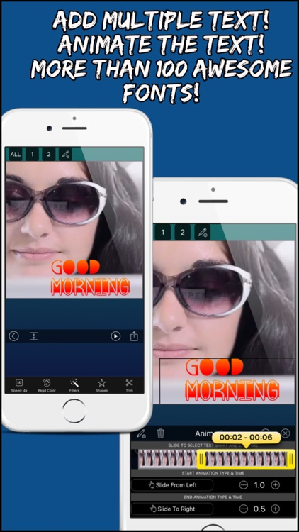 Video Editor Pro: Merger, Text screenshot-3