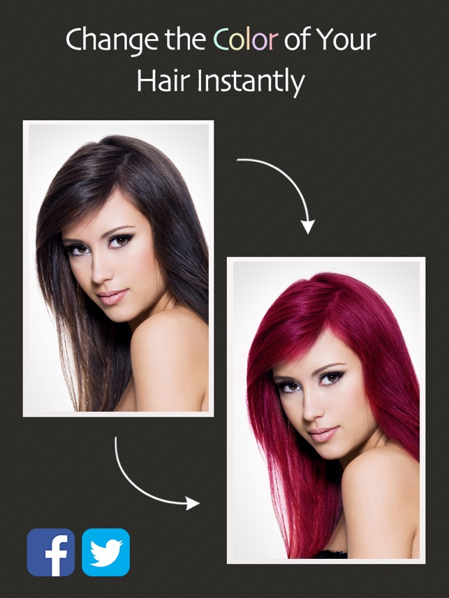 Hair Color Booth On The App Store - Hair colour editor download