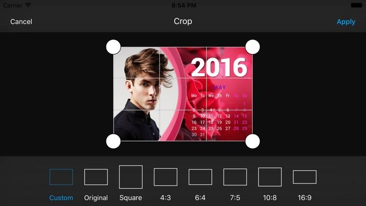 2016 Calendar Frames screenshot-3