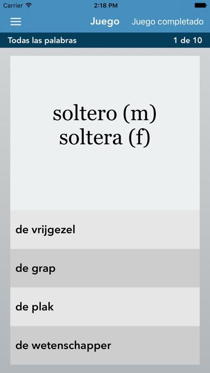 Spanish | Dutch - AccelaStudy® screenshot-3