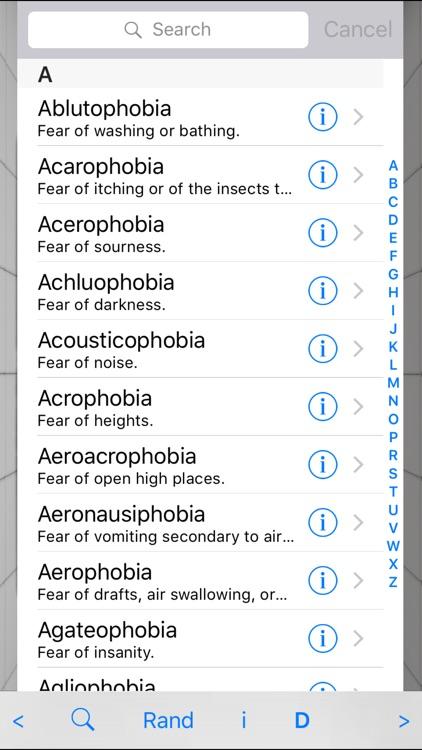 Phobia Compendium