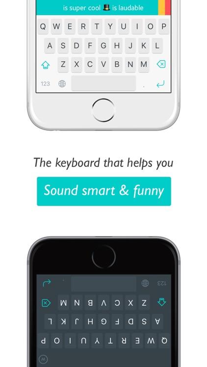 Wonder Keyboard: Sound Smart & Funny with AI