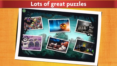 Halloween Puzzles - Relaxing photo picture jigsaw puzzles for kids and adults screenshot one