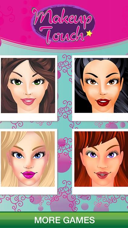 Make-Up Touch - Girls Salon Games & Kids Makeup screenshot-3