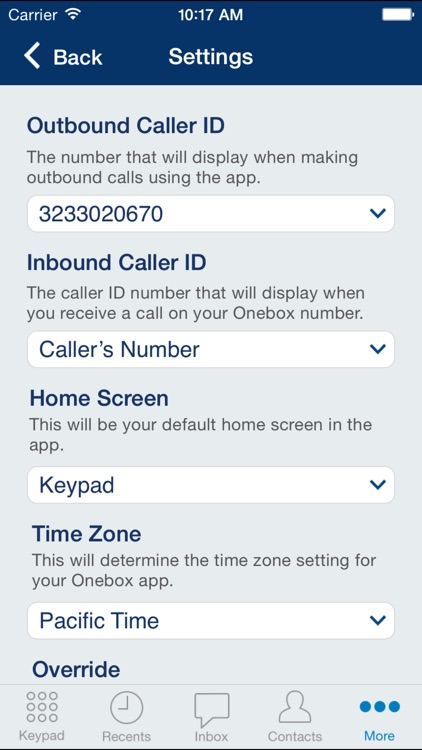 Onebox® – business phone app screenshot-3