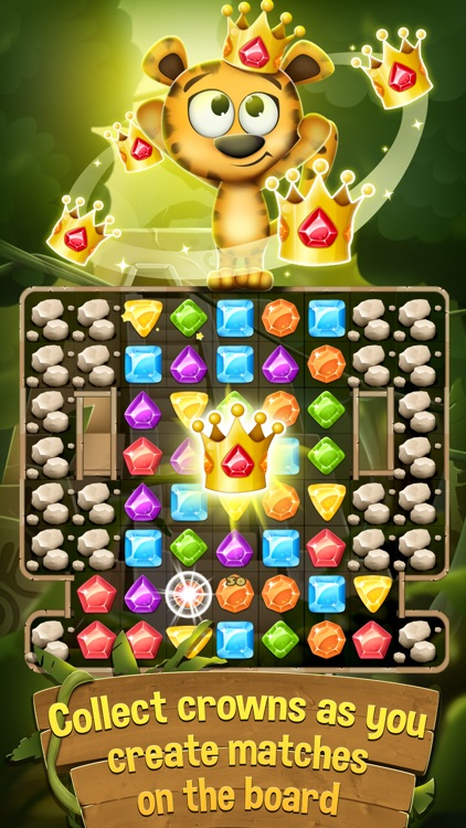 Diamonds and Jewels Match 3 Game - Matching Quest
