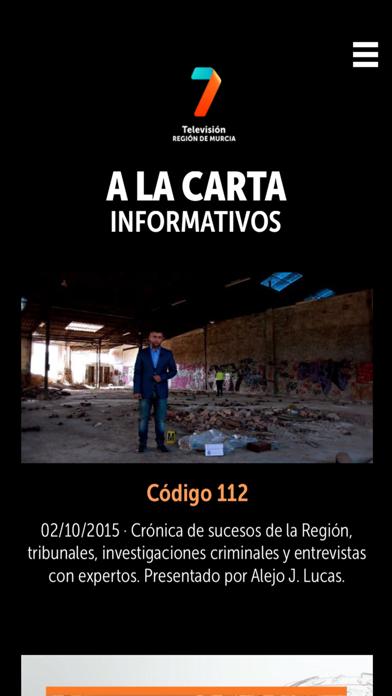 7TV PLAYER Región de MurciaCaptura de pantalla de4