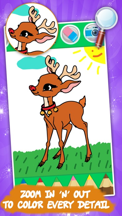 Kids colouring book: Animals