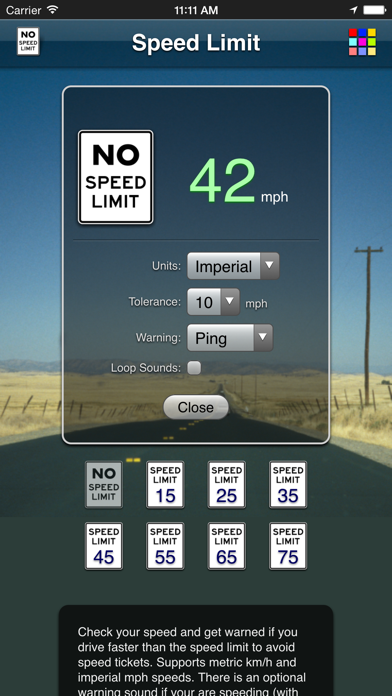 Speed Limit App review screenshots