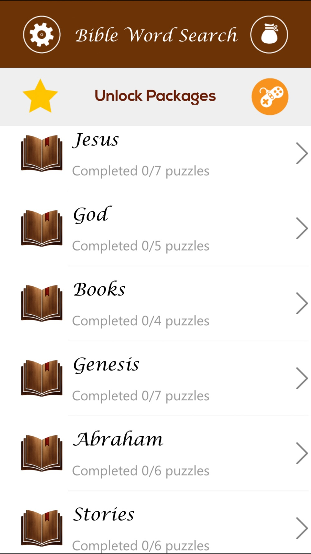 Giant Bible Word Search Puzzle hack tool