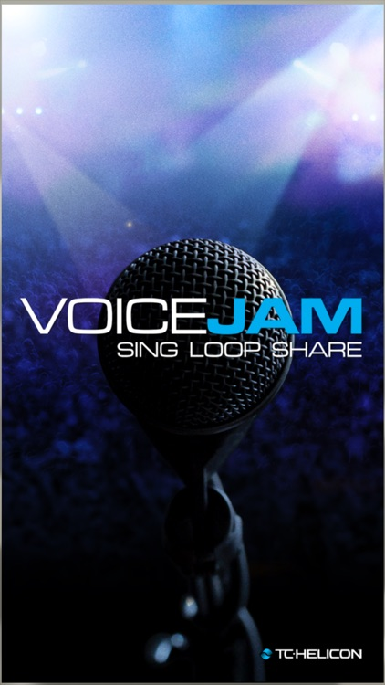 VoiceJam: Vocal Looper - Sing, Loop, Share screenshot-0