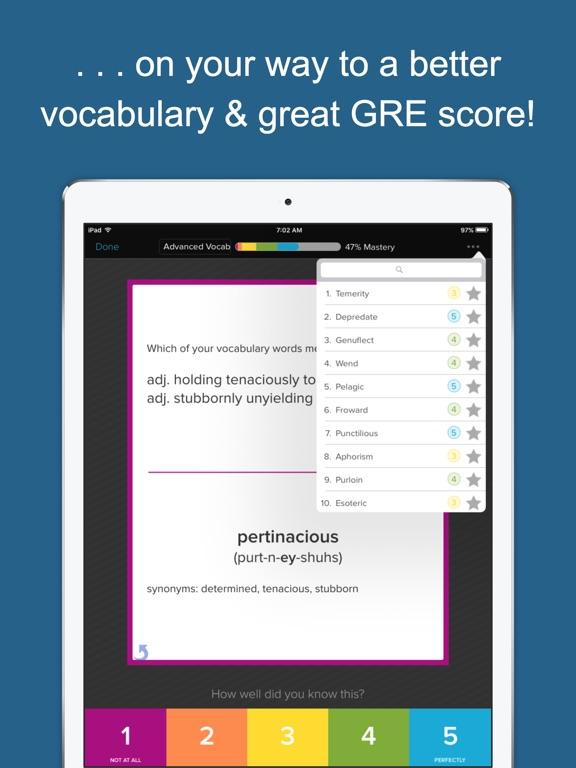 Screenshot #5 for GRE Vocab Genius