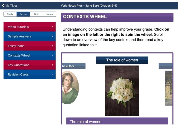 Jane Eyre York Notes For Gcse 9 1 For Ipad By Balberry
