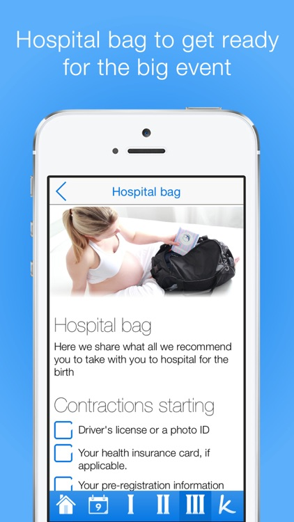 Pregnancy Checklists