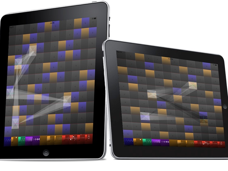 Music Pad Pro: Portable music synthesizer.