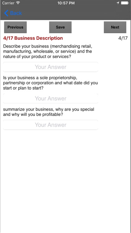 Business Plan App screenshot-3