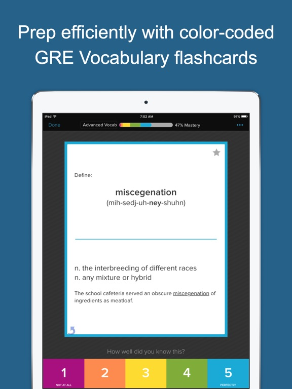 Screenshot #1 for GRE Vocab Genius