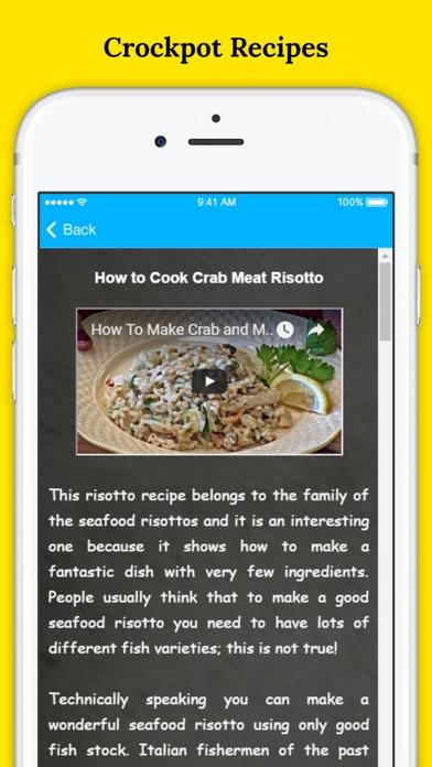Delicious Slow Cooker Recipes - Healthy Crock-pot Recipes screenshot two
