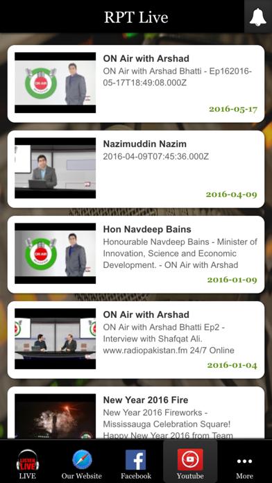 Radio Pakistan Toronto screenshot three