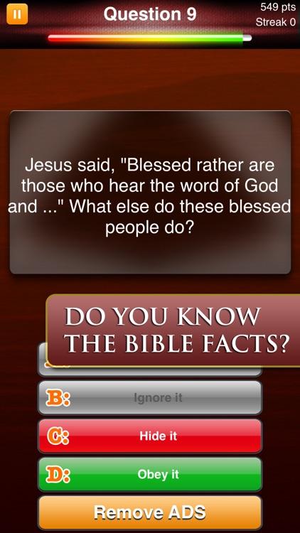 Bible Quiz Game Ⓑ screenshot-3