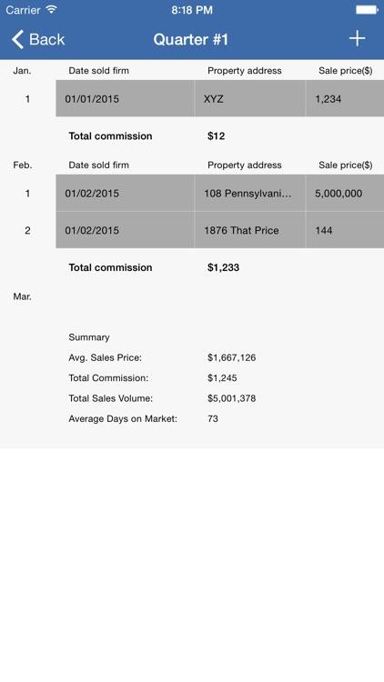Real Estate Tracker screenshot-3