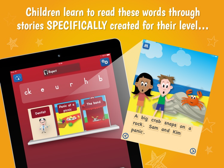 Pocket Phonics Stories (full) screenshot-2