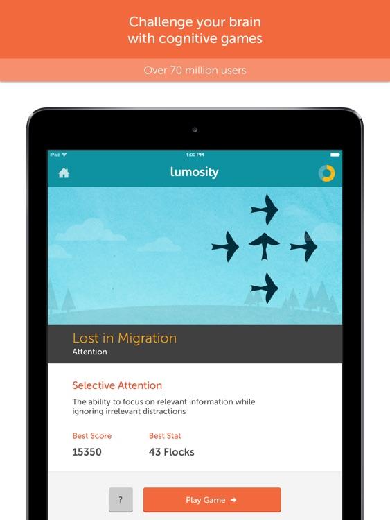 Lumosity — Brain Training screenshot-0