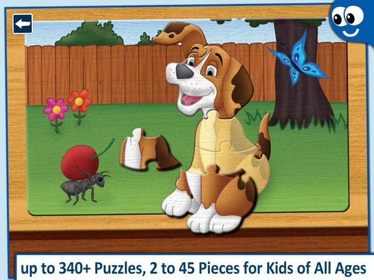 Kids' jigsaw Puzzles Lite screenshot-0