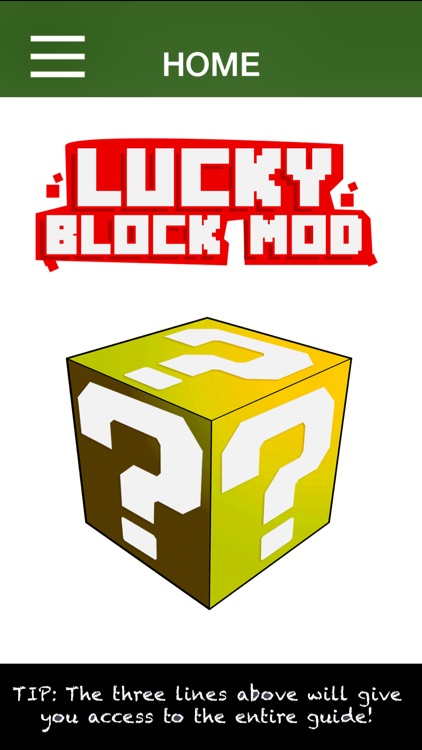 Lucky Block Mod: Minecraft Edition