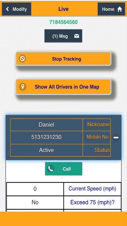 Vehicles Tracker - Tracking Cars