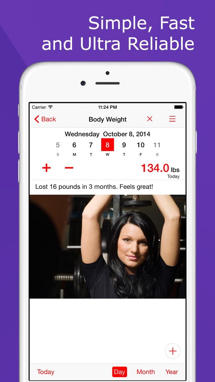 Weight Loss Tracker+ Food Diary Screenshot
