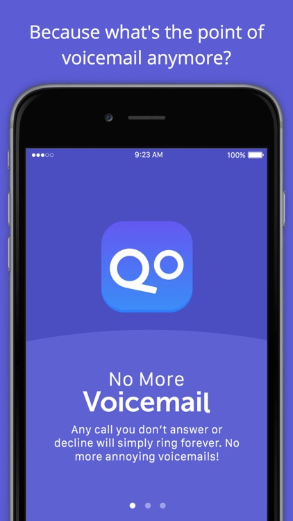 No More Voicemail