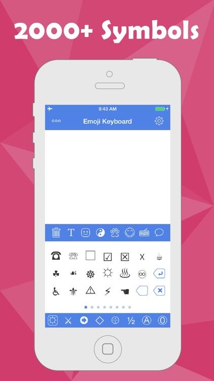 Emoji Keyboard - Color Emojis , Emoticons Stickers , Smileys GIF Faces for Texting screenshot-3