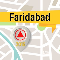 Faridabad Offline Map Navigator and Guide