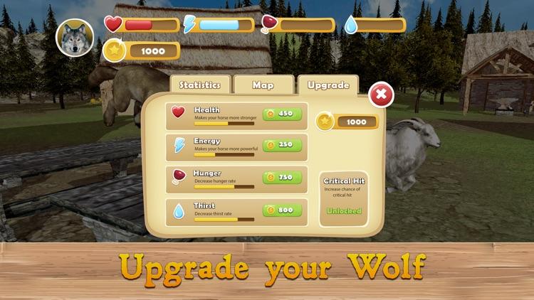 Evil Wild Wolf Simulator 3D screenshot-3