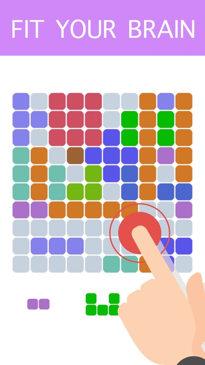 10-10 Colors Block Puzzle Free to Fit : Logic Stack Dots
