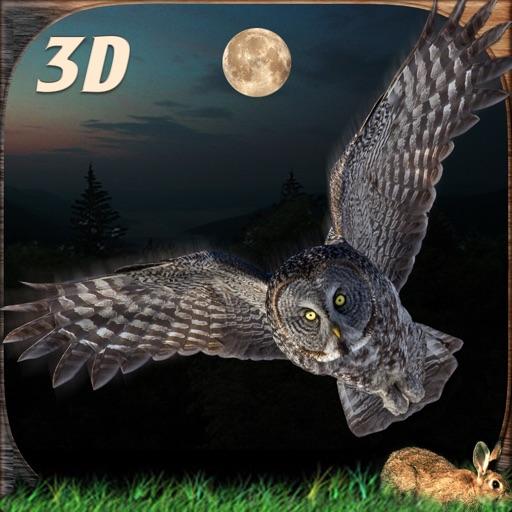 Дикий сова полет симулятор 3D