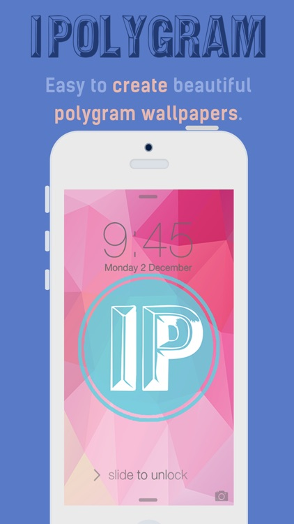 iPolygram Lite - Create your own custom wallpapers and backgrounds