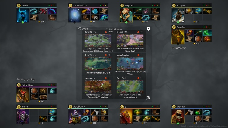 Dota Live Analytics screenshot-2