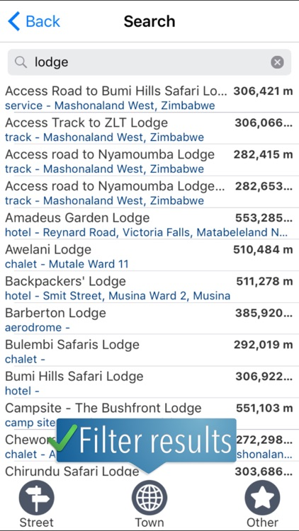 Zimbabwe Travelmapp screenshot-3